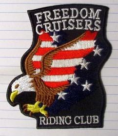 Flying Eagle Vest Patch